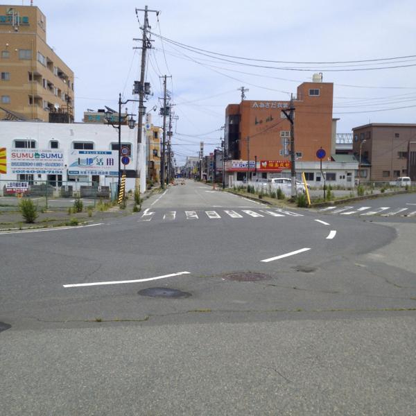 浪江町駅まえ